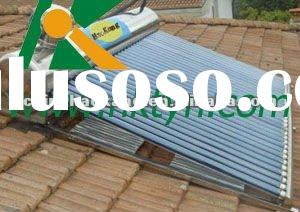 Haokang solar thermal of split pressure of World Certificates Guarantee solar hot water system