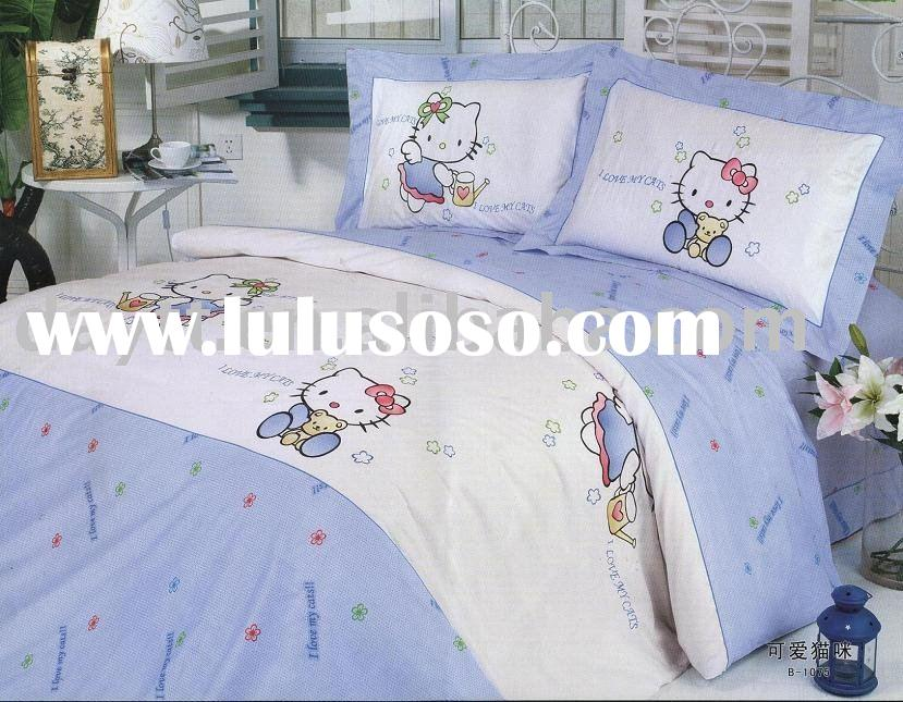 Hello Kitty Children Bedding Set D054 on sale wholesale & drop shipping