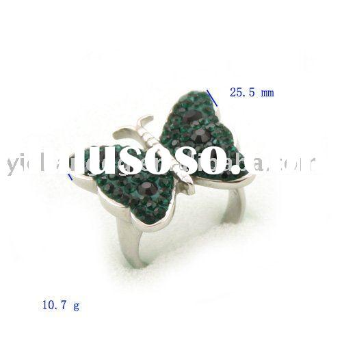 High quality color stainless steel ring jewelry