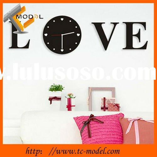 Hot selling creative fashion decorative clock wall clock modern design