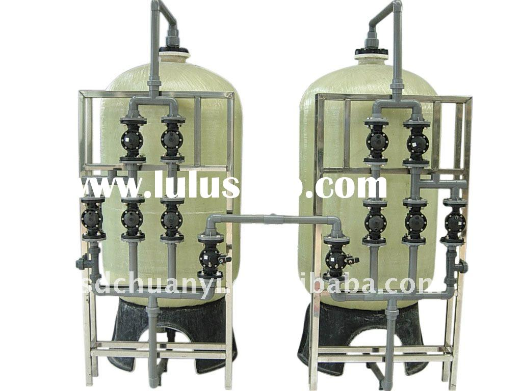 Industrial automatic water softener for water treatment