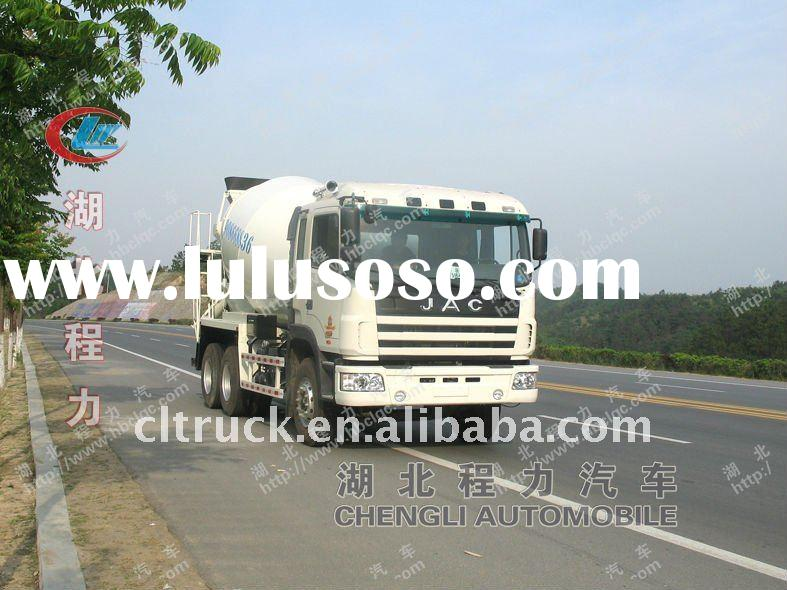 JAC 6*4 concrete mixer truck for sale