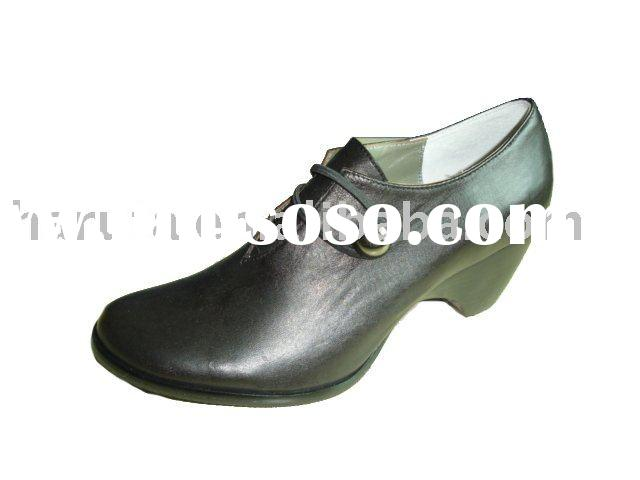 Ladies dress shoes Women Leather Shoe