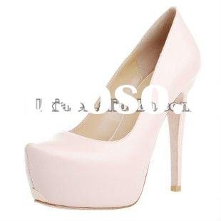 Latest fashion women high heel shoes inner platform