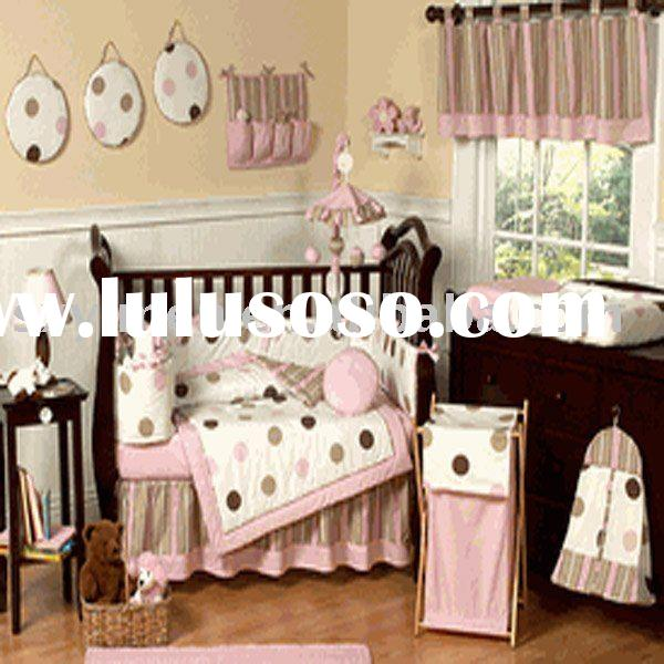 Lovely Infant Crib bedding set/ Baby bedding