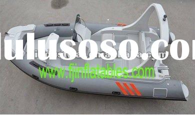 Luxury rib boat, rowing boat, speed boat