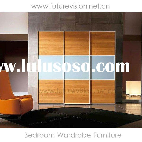 Modern Sliding Door Bedroom Wardrobe Furniture Design (EL-323W)