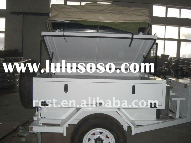 Off road travel trailer