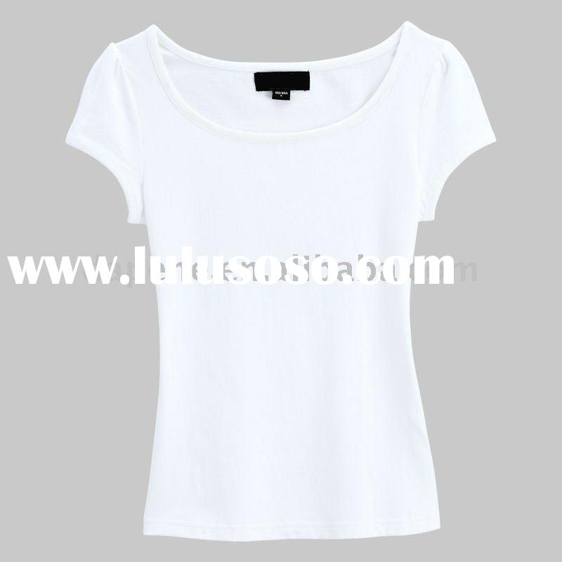 Plain white t-shirts for girls