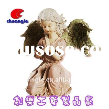 Poly angel, Resin angel figures, Poly resin angel doll