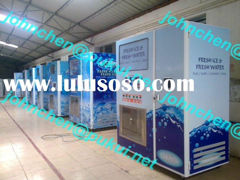 Popular Automatic Ice Vending Machine with Coin Operated