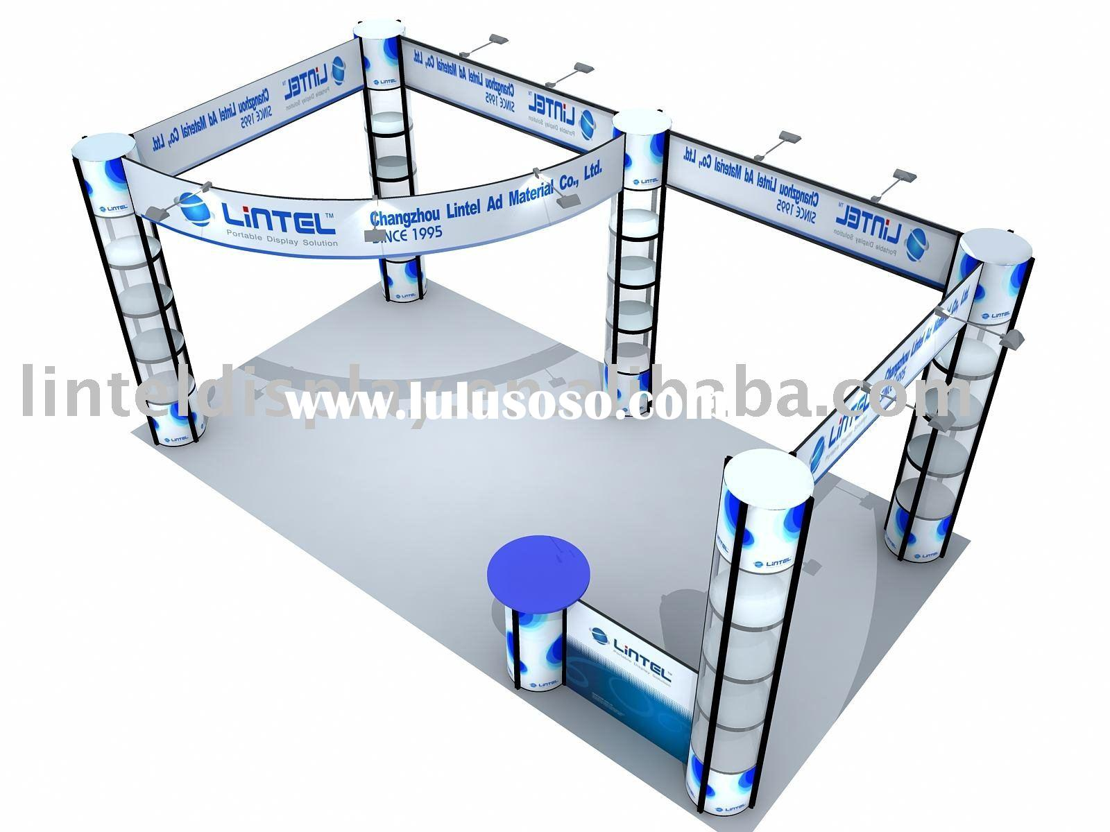 Portable Exhibition Booth Solutions stall stand