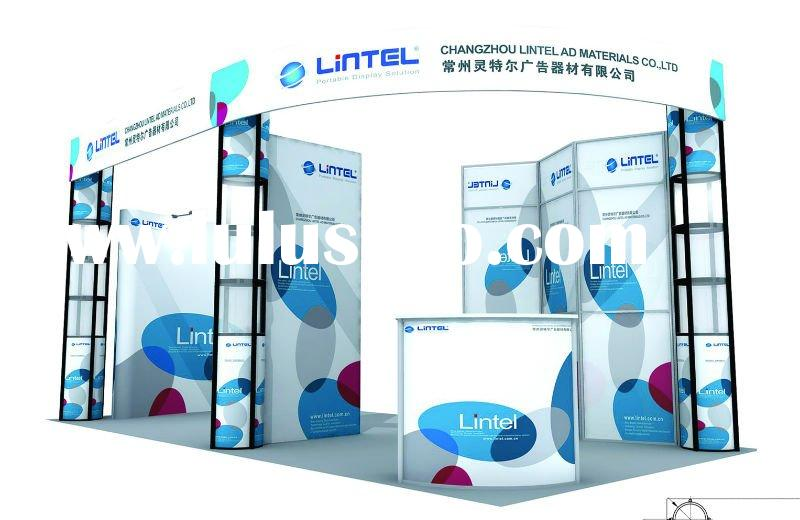 Portable exhibition booth