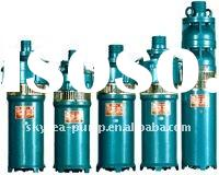QS(R) single phase submersible pump for deep well and borehole