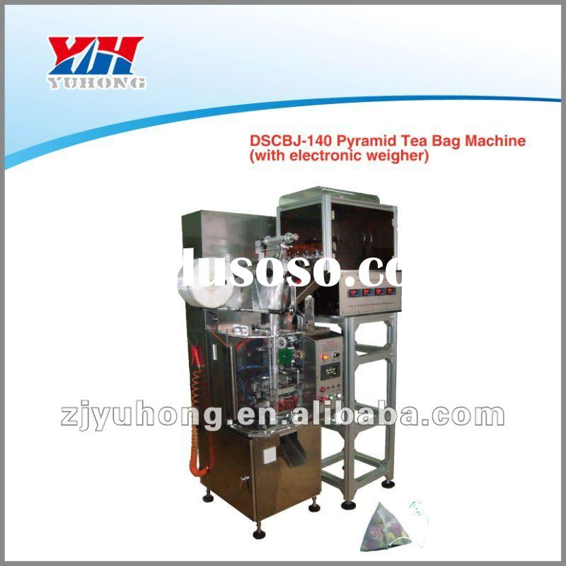 SCBJ-140 pyramid tea bag packing machine (with electronic weigher)
