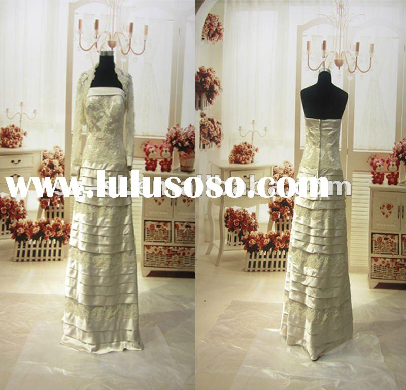 SL-x0391 mother of the bride lace jacket dresses