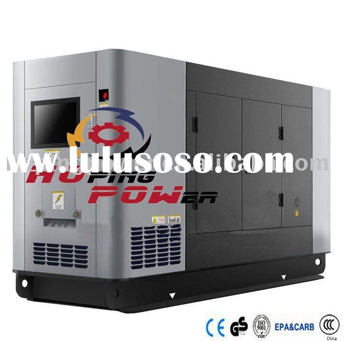 Soundproof Diesel Power Generator Set 300 kva