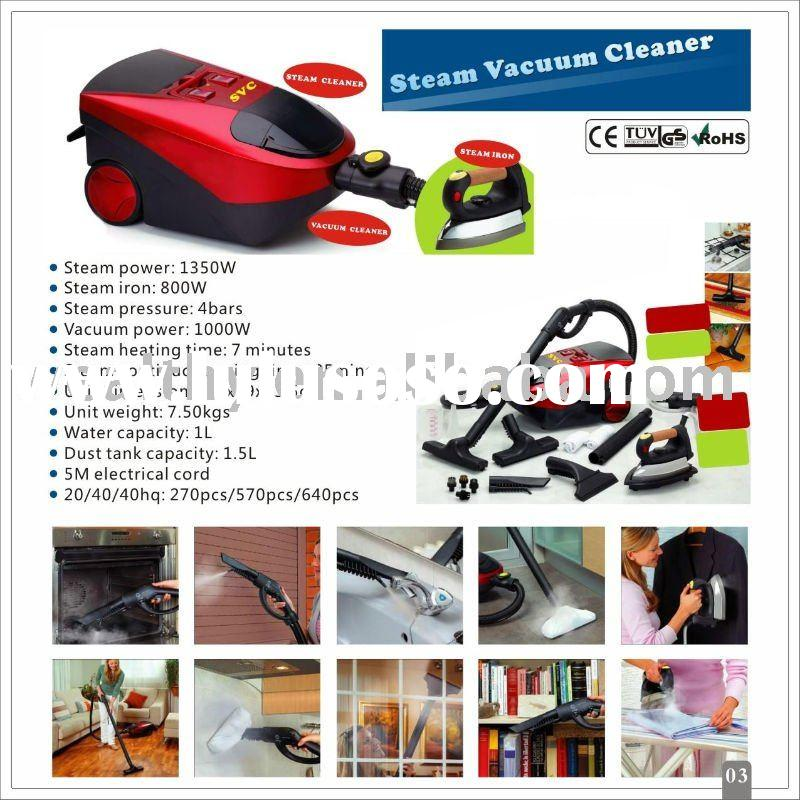 Steam Ironing Steam Vacuum Cleaner With Iron