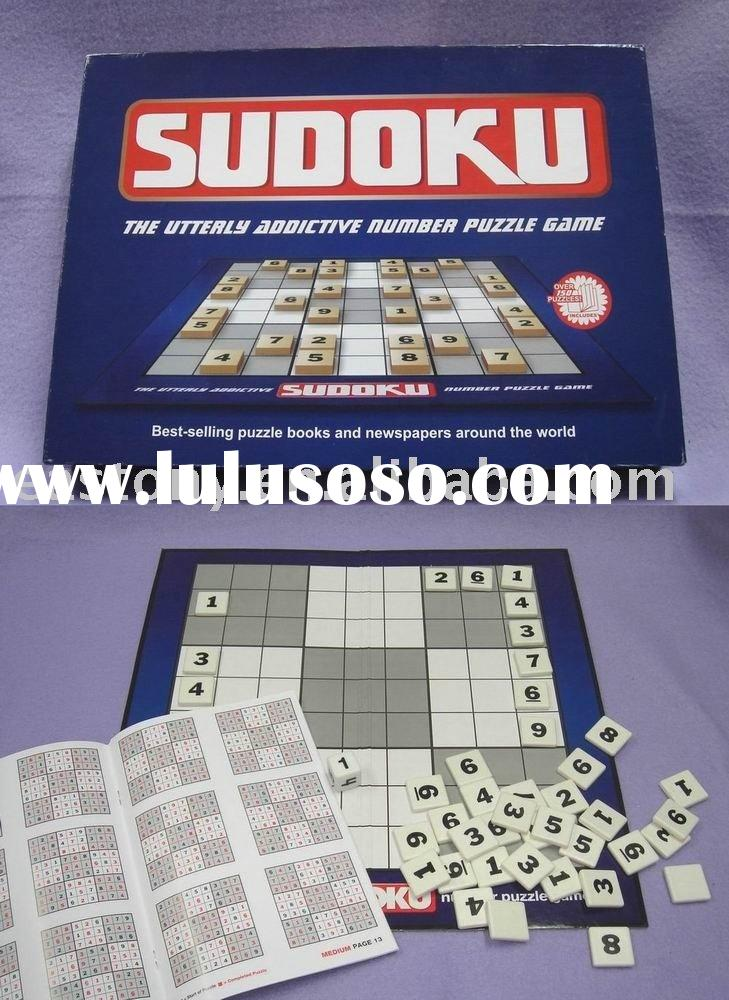 Sudoku,sudoku game,wooden SUDOKU, board game,Custom Board Game,ET-230022