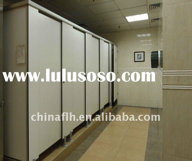 Toilet Partition with stainless steel accessories