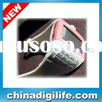 Triband Watch mobile phone EG100 with keyboard,with steel beltwatch mobile,watch phone,wrist phone,w