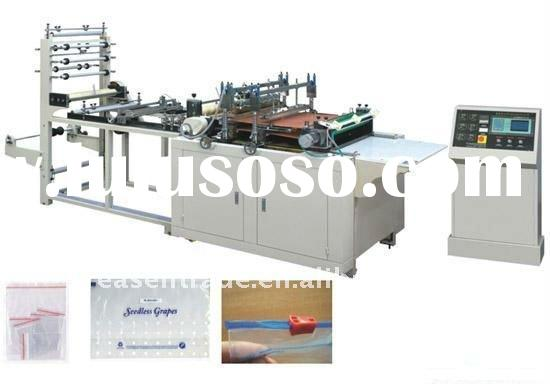 Zipper Plastic Bag Making Machine