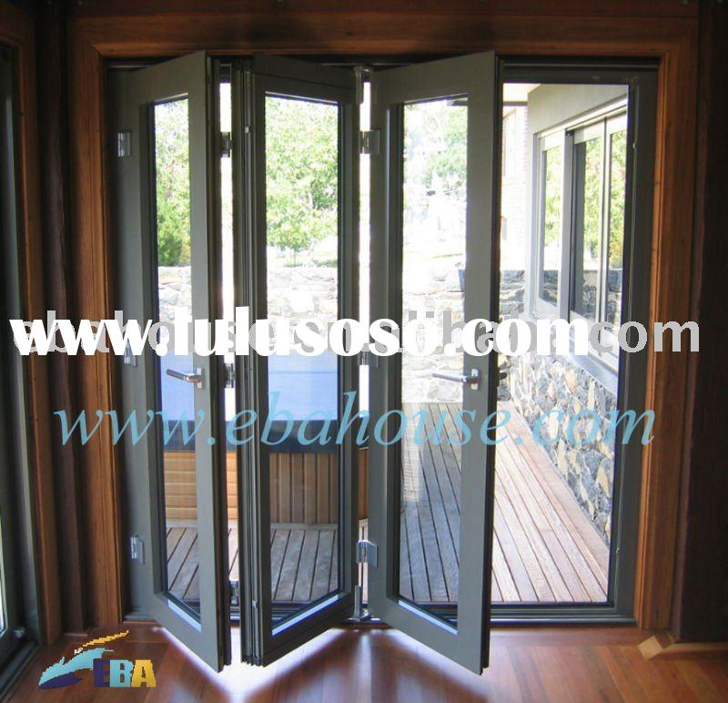 Folding doors vinyl folding doors exterior for French accordion doors
