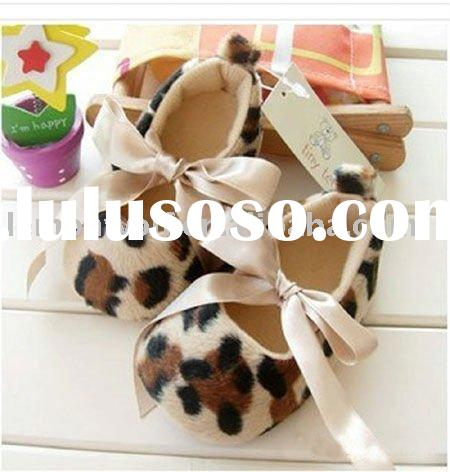 animal printed baby shoes