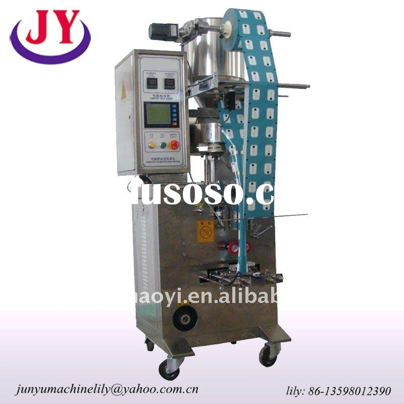 automatic back sealing small tea bag packing machine for package tea,seeds etc pellet materials