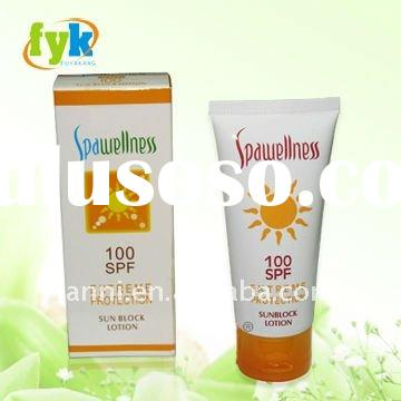 black skin whitening cream Sunblock Expert SPF100