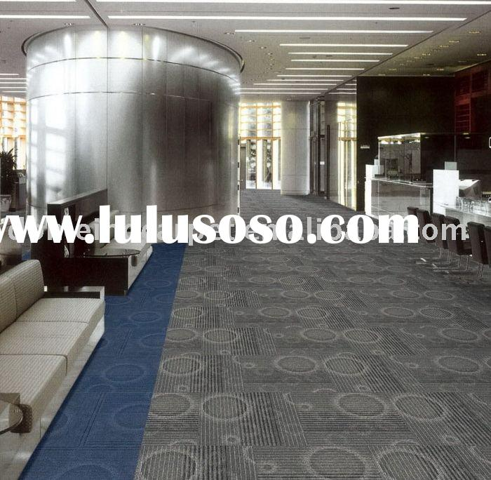 commercial Carpet tile Polypropylene nylon carpet flooring tile