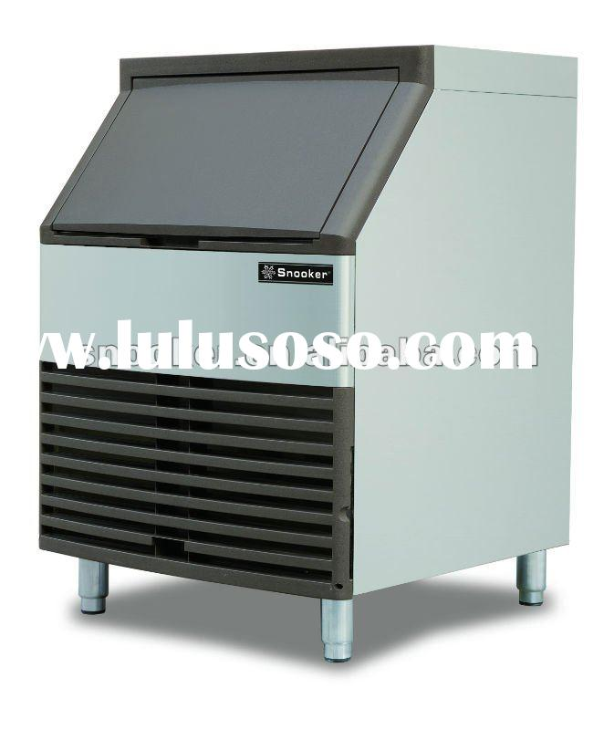 fully automatic commercial Aspera compressor Air cooled water cooling Ice maker