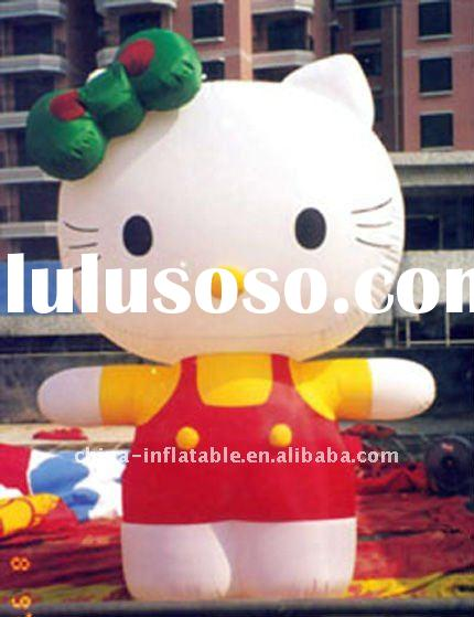 hello-kitty advertising inflatable cartoons