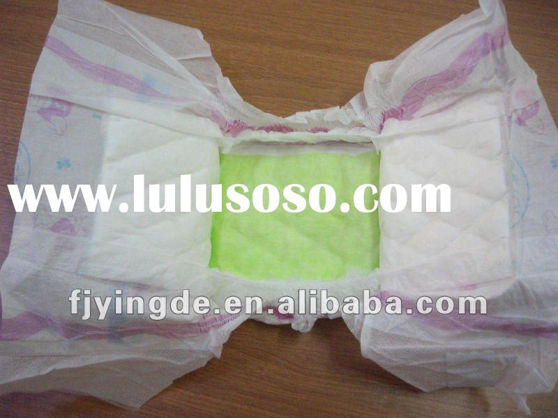 high quality elastic waistband colored cute bulk custom disposable favorite non woven goon baby diap