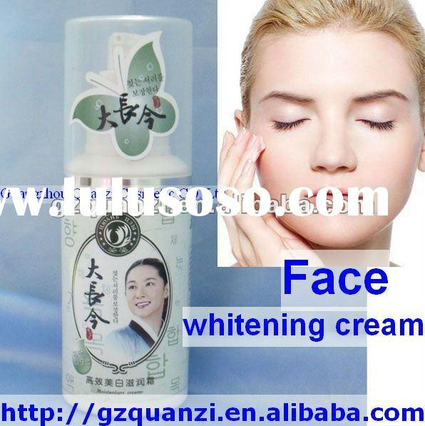 highly active moistening face whiten cream/lotion skin whitening face cream