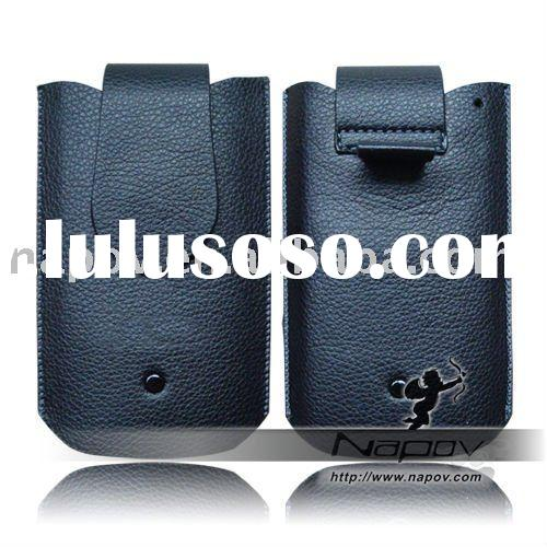 leather pouch for iphone 4 (paypal)