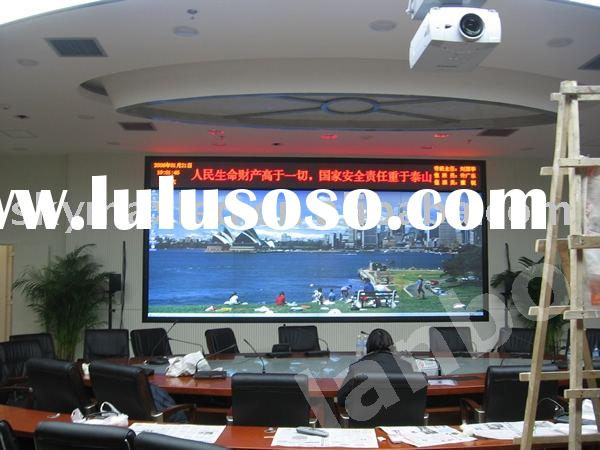 meeting room indoor led display screen with CE FCC ROHS UL