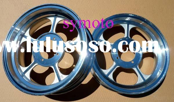 "monkey bike wheels, 10"" and 12"" alloy vacuum wheels"