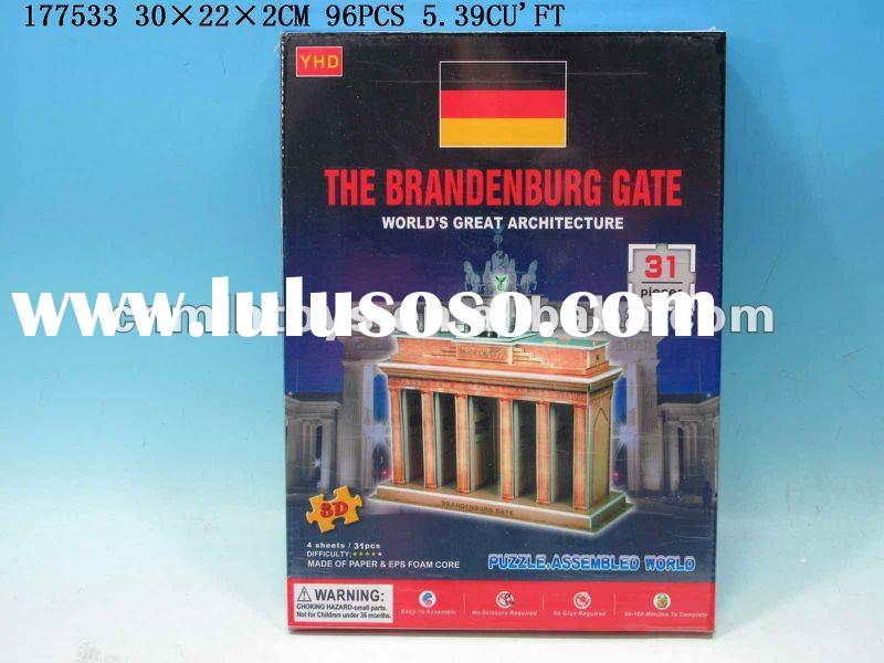 new 3d paper craft model(the brandenburg gate)