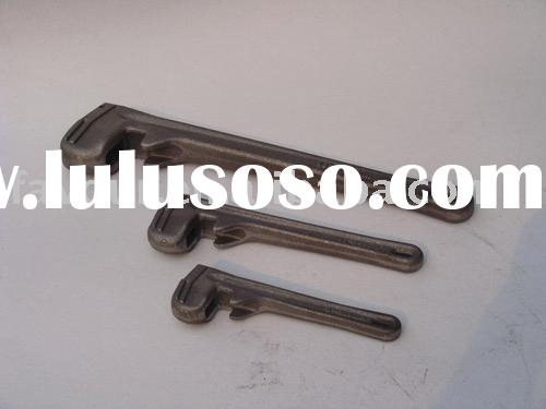 pipe wrench cast iron casting / forging / Sand casting / grey cast iron casting / gray cast iron cas