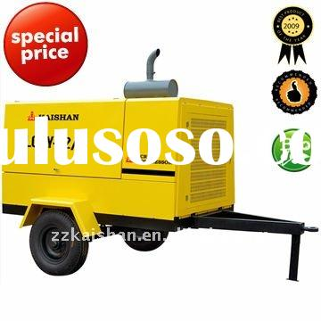 portable diesel screw air compressor (kaishan LGCY-12/7)