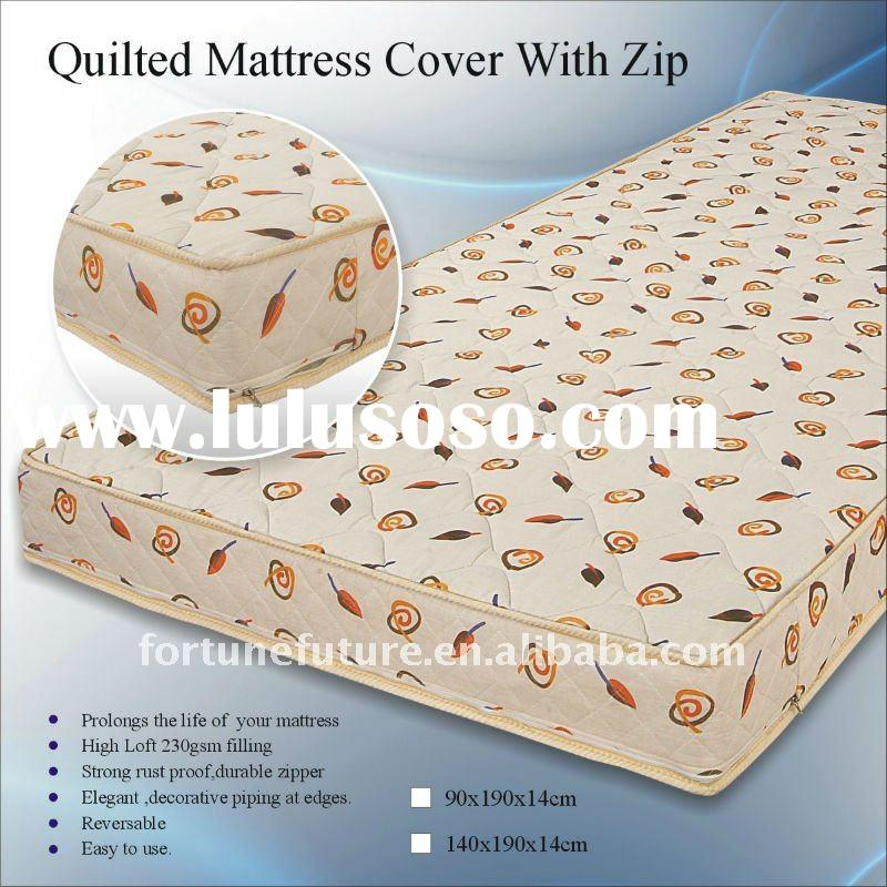 quilted mattress protector with zip