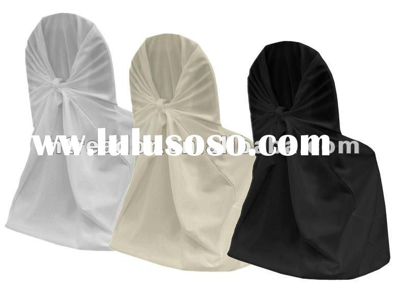 self-tie chair covers for weddings