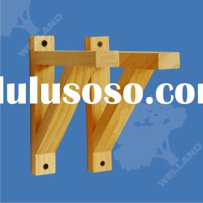 shelf brackets, wood brackets, wooden brackets