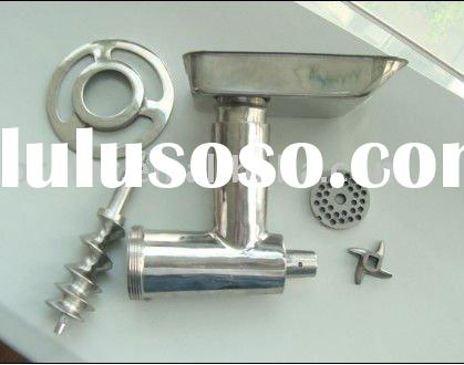 stainless steel meat grinder parts / grinder head