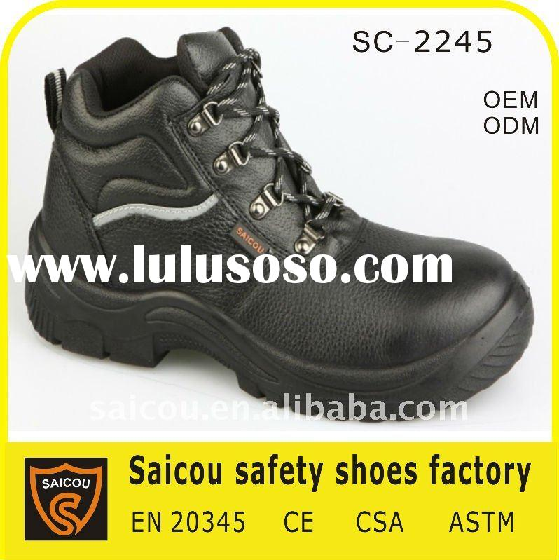 steel toe red wing safety shoes factory (SC-2245)
