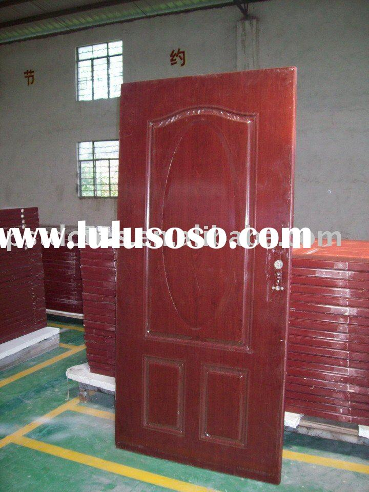 walnut color steel doors / galvanized steel doors