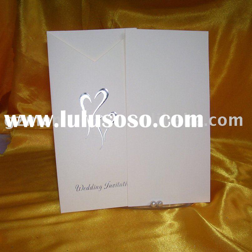 wedding invitation cards/wedding cards -- W059