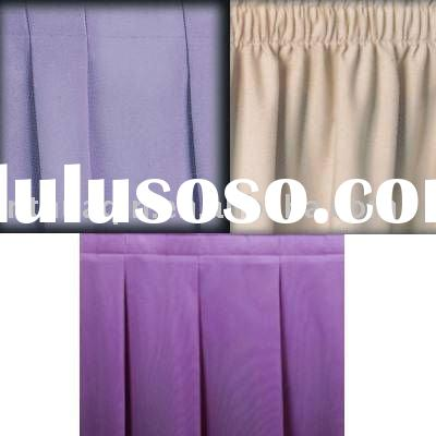 wedding polyester jersey stretch table skirt party polyester table skirting for banquet