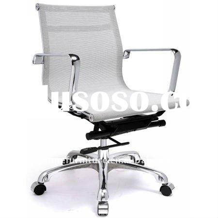 white eames low back mesh office chair RF-S084A